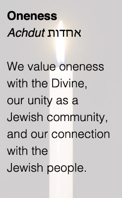 Har Shalom Missoula Core Value Oneness